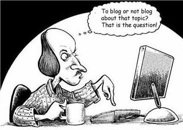Shakespeare_Blogging