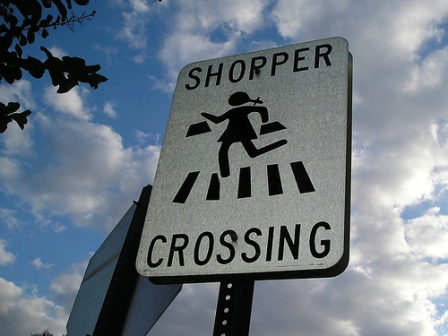 shopper-crossing