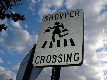 shopper-crossing