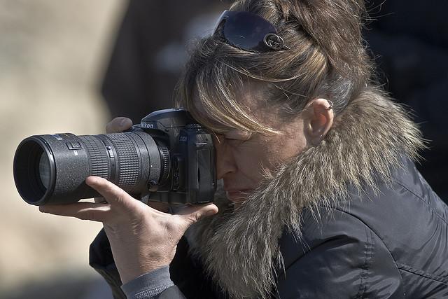 lady photographer
