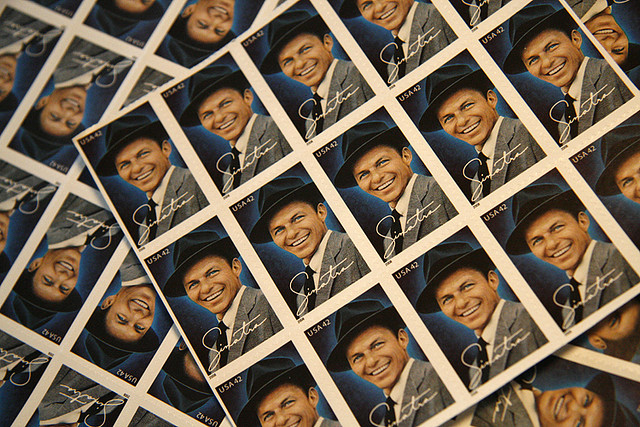 Sinatra stamps