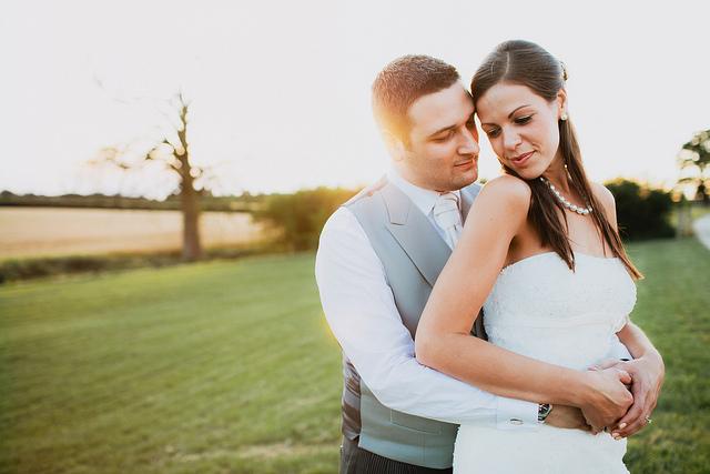 Bride and Groom Hugging2