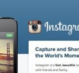 Instagram Home Page