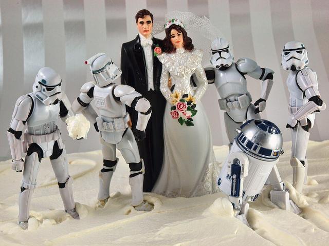 Star Wars Weding Cake Topper