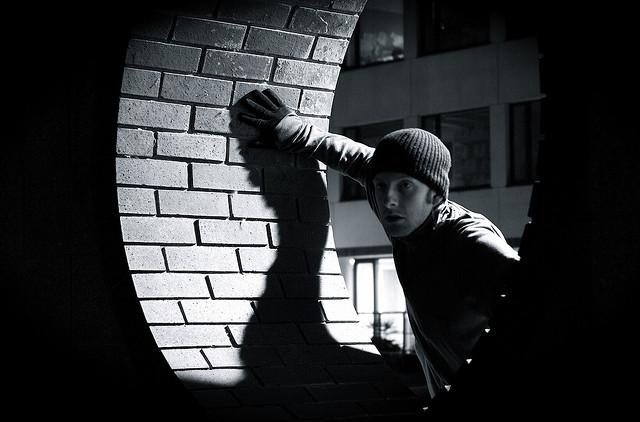 Thief in the dark