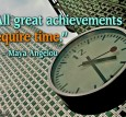 achievement on time