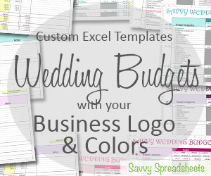 Branded Wedding Budget