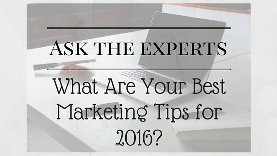 2016 Marketing Tips