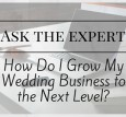 Ask the Expert at Book More Brides