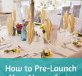 Pre-Launch Your Venue